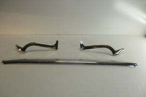 1959 1960 Chevy Impala Convertible Windshield Outer Stainless Trim Molding