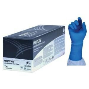 Ind Protexis Latex Blue With Neu thera Surgical Gloves size 7 5 Box Of 1