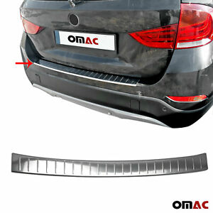 Fits Bmw X1 E84 2009 2015 Chrome Rear Bumper Guard Trunk Sill Protector S Steel