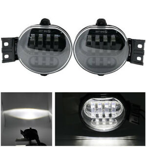 2x Front Bumper Led Fog Light 63w Dc 12v For Dodge Ram 1500 2500 3500 2002 2008