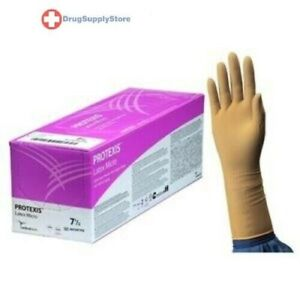 Ind Protexis Latex Micro Surgical Gloves size 7 5 Box Of 1