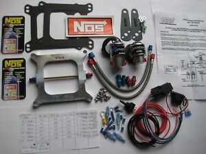 Hey You New Nos Nx Edelbrock Holley 4150 Cheater Nitrous Plate Kit 50 250hp