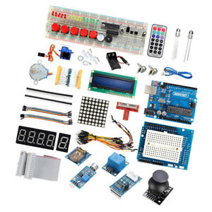 Perfeclan Uno R3 Starter Kit For Arduino 1602 Lcd Servo Motor Relay Rtc Led