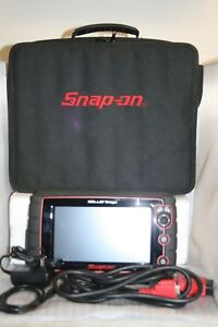Snap On Solus Edge Touch Diagnostic Scanner W Nylon Case