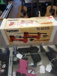 Lyman Pro 500 Powder scale Excellent condition