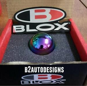 Blox Limited Series Neo chrome Weighted Ball Shift Knob Honda acura