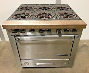 Garland 6 burner Gas 34 Range Stove Top With Oven