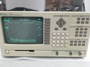 Hp 35660a Spectrum Dynamic Signal Analyzer 2 channel