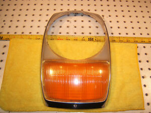 Mercedes W114 w115 Usa Type Headlight Bosch Left Or Right Genuine Oe 1 Lens Only