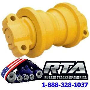 One Single Flange Bottom Roller Fits John Deere 450c Dozer Id512 Free Shipping