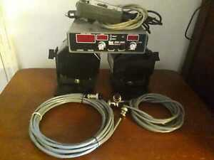 Kustom Signals K band Pro 1000ds Police Radar Unit Complete W Long Cables