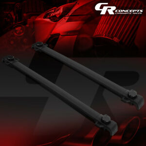 Pair Oe Style Aluminum Roof Rail Cross Bar Cargo Carrier For 15 19 Jeep Renegade