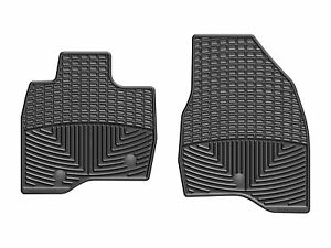 Weathertech All Weather Floor Mats For Ford Explorer 2017 2019 1st Row Black