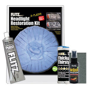 Flitz International Hr 31501 Headlight Restore Kit