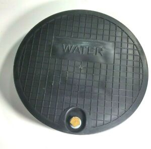 Nicor Type x Or C Water Meter Box Cover W sensus Amr Or Touch Hole 12 25 Lid