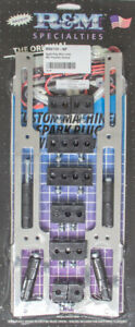 Rm Specialties 1101 90p Spark Plug Wire Loom Sbc Polished Vertical