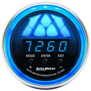 6187 Autometer Cobalt 52mm Digital Pro Shift System Shift Light Level 1 Gauge