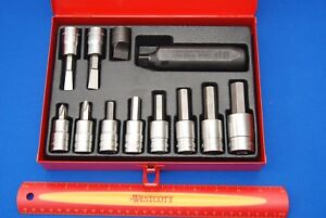 New Snap On 12 Piece 1 2 Drive Impact Driver Set Pit3120eb Aviation Ships Free