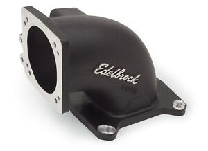 38493 Edelbrock High Flow Intake Elbow 95mm Throttle Body To Square bore Flange
