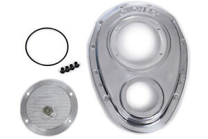 Cloyes 9 229 Aluminum Timing Cover Sbc W bbc Snout 2pc
