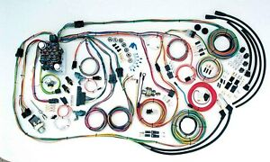 American Autowire 500481 55 59 Chevy Truck Wiring Harness