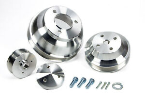 March Performance 7310 Bbc Long W p Serpentine Conversion Pulley Kit