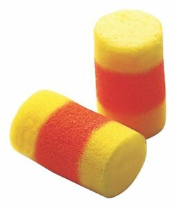 E a r 30db Disposable Cylinder shape Ear Plugs Uncorded Yellow Universal