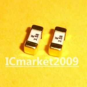 10 Pcs 3 5a 1808 Littelfuse Fast Acting Smd Fuse 1 5 Ampere Surface Mount Fuses