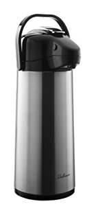 Stainless Steel Vacuum Insulated Classic Airpot Coffee Dispenser Pump Leakproof