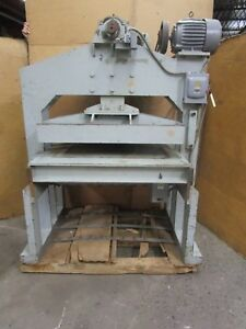 Alleppey 688 007 39 x36 3 4 Die Mechanical Cutter Cutting Press 208 230 460 3ph