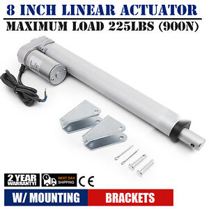 8 Stroke Linear Actuator Dc12v Electric Motor 900n Boat Recliner Lifting Table