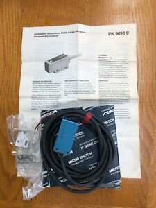 Honeywell Micro Switch Miniature Photoelectric Control P n Fe8 tx6ve m