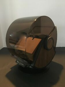 Vintage Rolodex Sw 35 Plastic Large Round File Index Cards Swivels never Used