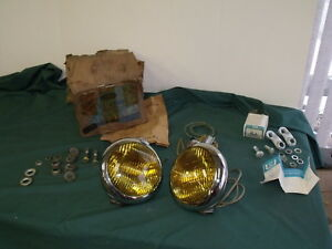 Nos 1949 1950 1951 1952 Ford Pickup Road Lamps Oem F 100