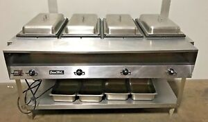 Vollrath Servewell 38118 Electric Hot Food Table 61 Steam Table Pans Included