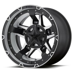 17 Silver Black Wheels Rims Ford F150 Expedition Xd Series Rockstar Xd827 5x135