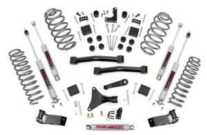 99 04 Jeep Grand Cherokee Wj 4 Rough County Lift Kit With N3 Shocks 698 20