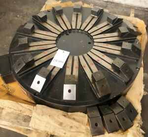 Techomagnetic radial Pole 33 Magnetic Chuck