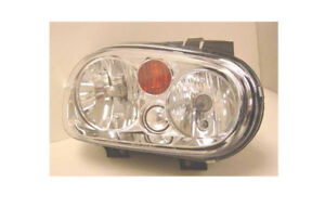 Replacement Depo 341 1108r asf y Passenger Headlight For 2002 Volkswagen Golf