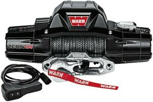 Warn 89611 Zeon 10 S 10000lb Winch W Synthetic Rope