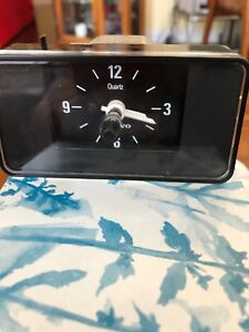 Vintage Volvo Vdo Quartz Lighted Clock Made In Germany 1214918 Imp