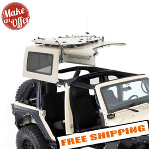 Smittybilt 510001 Hard Top Hoist For 1987 2018 Jeep Wrangler Yj Tj Jk