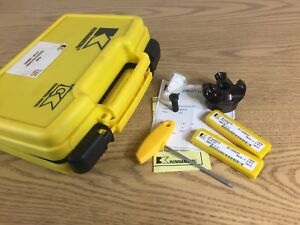 Kennametal Square Shoulder Indexable End Face Mill With Inserts And Case