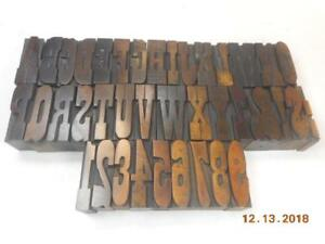 Printing Letterpress Printer Block Page Co Wood Alphabet Antique Printer Cut
