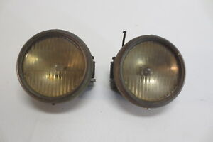 Vintage Antique Cowl Parking Lights Lamps Locomobile Ford Pierce Arrow Marmon