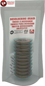 Mg Chemicals Desoldering Braid 5 Fine Super Wick With Rma Flux 5 Length X