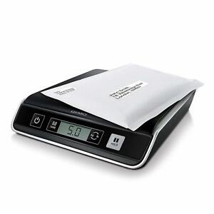 10 Lb Digital Usb Postal Scale Black Silver Lcd Screen Mailing Software Supply