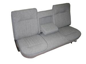 Ford F150 Pickup Seat Upholstery For Front Bench With Center Arm Rest 1987 1991
