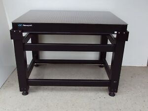Crated Newport Optical Table Thorlabs Adjustable Bench Breadboard Lab