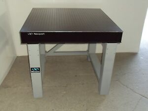 Crated 3 Newport Optical Table Nrc Rigid Legs Bench Breadboard Lab Isolation